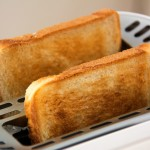 Eat something toasty on a cold morning!
